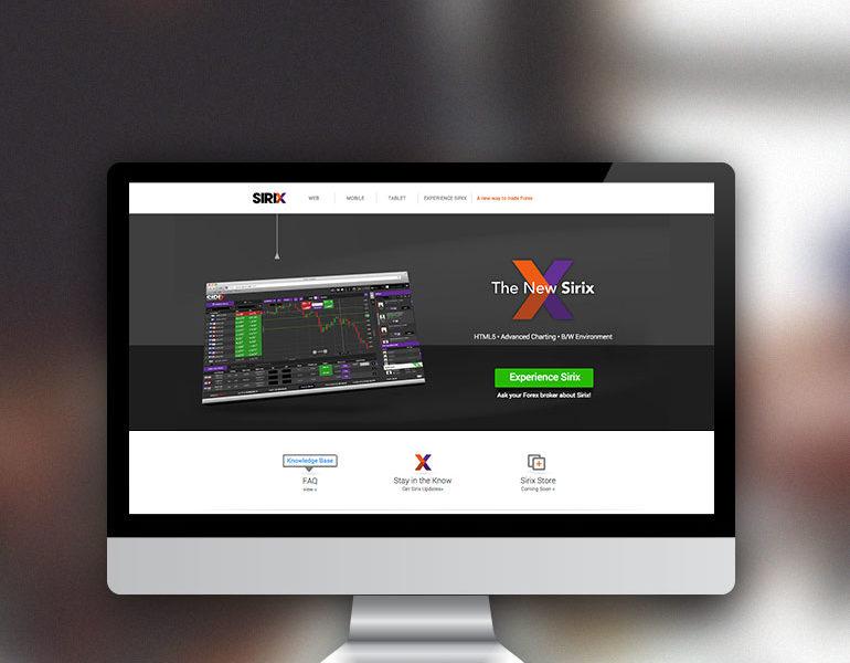 Sirix Trader Web Development
