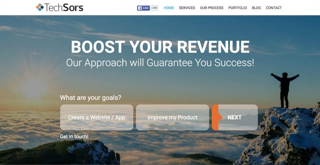 Techsors Homepage